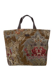 Floral Canvas Tote Bag Fabric