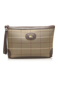 Plaid Pouch Fabric Canvas