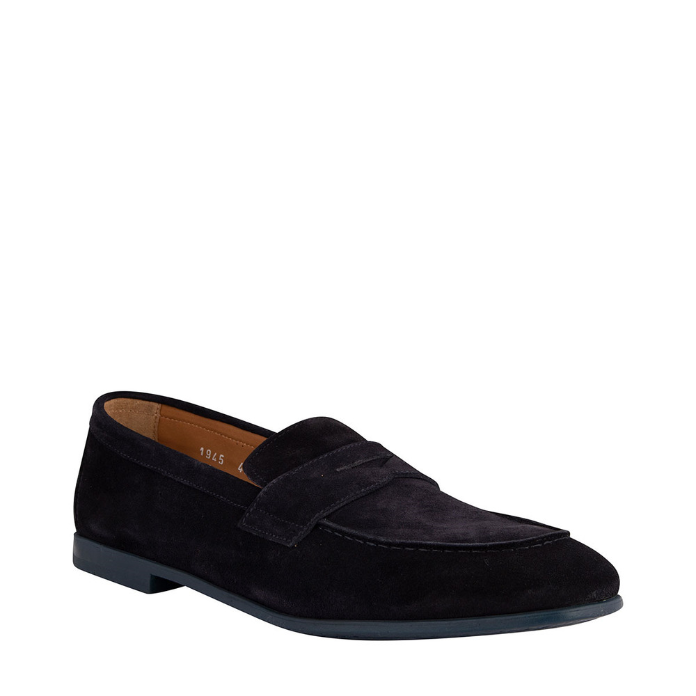 Navy LOAFER PENNY LOAFER | Doucals | Loafers | Men's shoes