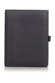 Pre-owned Leather Notebook Cover