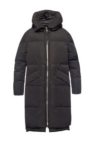 'Ester' quilted coat with hood