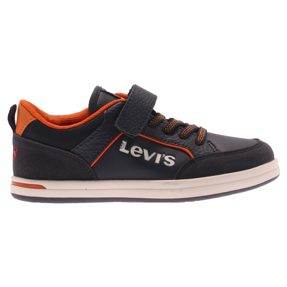 Levi's Kids - Sneakers Chicago Velcro Blå / Orange