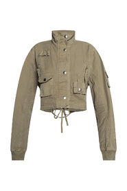 Jacket with numerous pockets