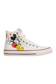 High top trainers sneakers Disney Mickey Mouse