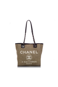 Pre-owned Deauville Tote Bag Fabric Canvas