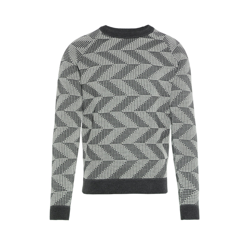 Sweater Vein Nylon Chevron