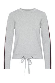 Knitted Pullover Drawstring