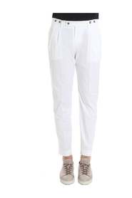 White Barber Trousers