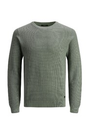 STRUCTURE KNIT CREW NECK