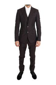 Wool Slim Fit Two Button Suit