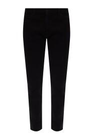 Diagonal Pocket Jeans