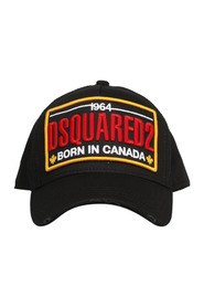 PATCH EMBROIDERED BASEBALL CAP