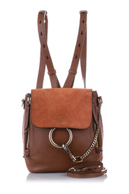 Faye Leather Backpack