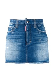 Distressed Effect Skirt