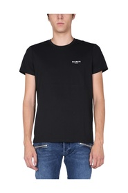 T-SHIRT WITH FLOCKED LOGO