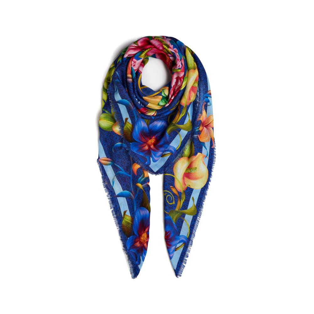 Guess Blue Foulard with flower Guess