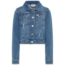 698828fe As seen on photo Alfie bomber jacket til barn, navy-melange | Wheat ...