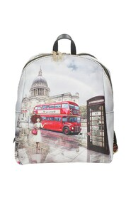 Yes601f2 Backpack London Rainbow
