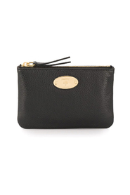 Plaque Small Zip Coin Pouch