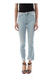 PINKO CHRISTIE 24 JEANS Women DENIM MEDIUM BLUE