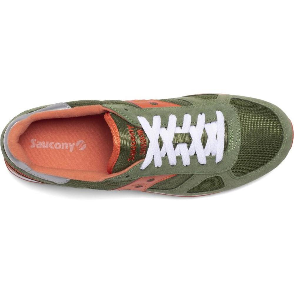 GREEN/ORANGE SHADOW ORIGINAL MEASURES US | Saucony | Sneakers | Herenschoenen