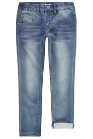 Kids Nkmtheo Dnmthayer Swe Pant Noos Jeans Super Mager
