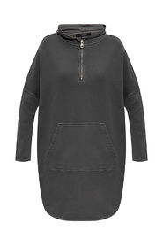Xonda hooded dress