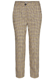 Dean Check Boy Yellow Pant - Co'couture