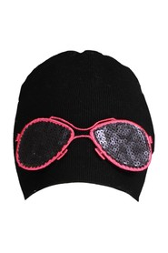 Interchangeable glasses hat