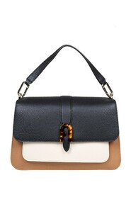 sofia grainy m bag in leather
