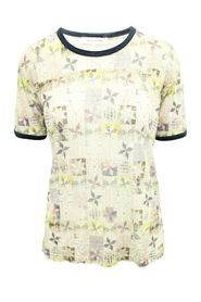 Linen Printed Top -Pre Owned Condition Good