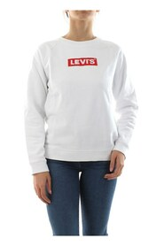LEVIS 29717 0092 CREW FLEECE SWEATER Women WHITE