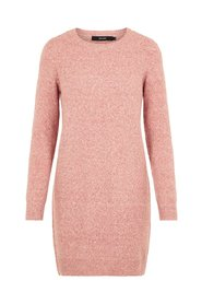 Knitted Dress O-Neck