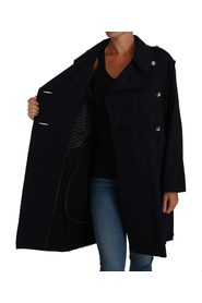 Crystal Buttons Trench A-Line jacka kappa