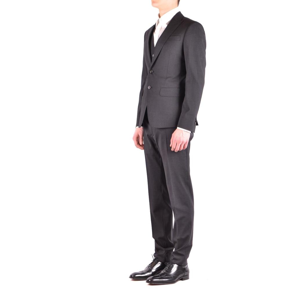 Dsquared2 Gray Suit Dsquared2
