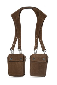 Leather harness bag