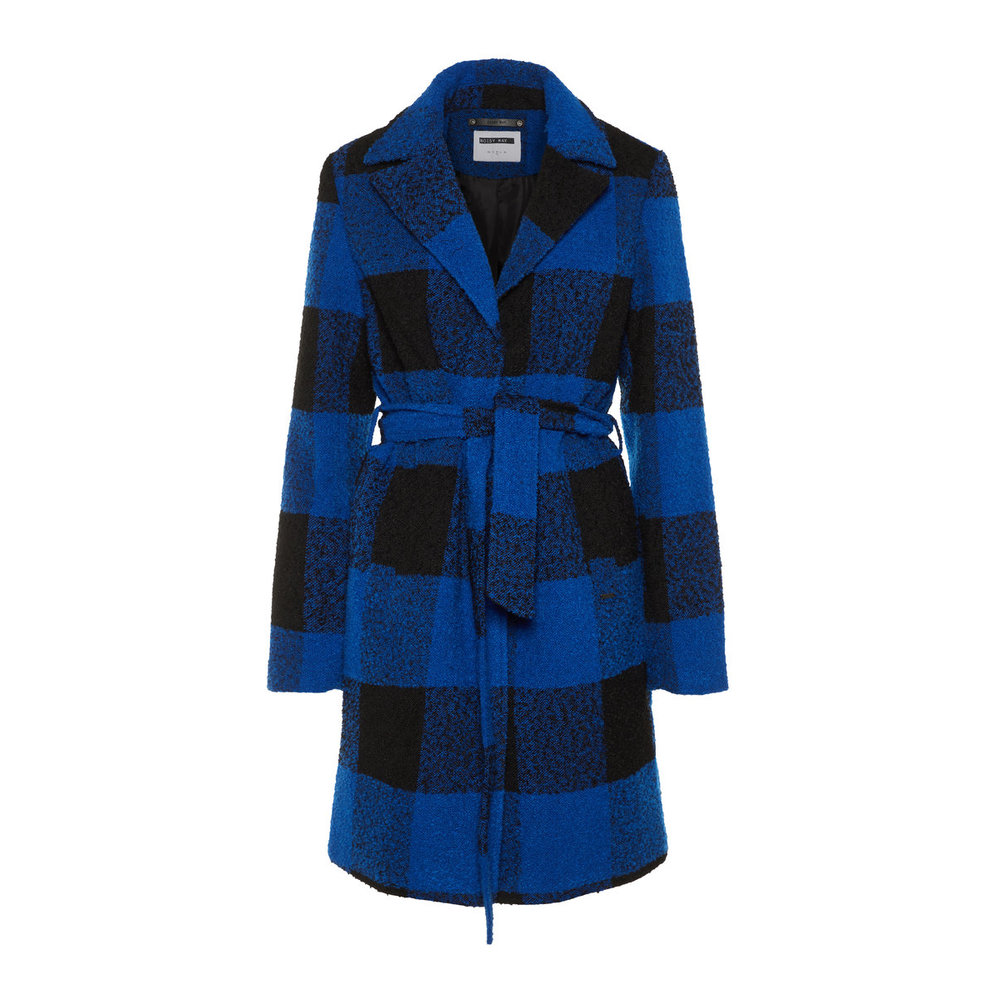 Coat Long Chequered