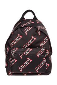 Nylon Rucksack Herren Tasche Laptop Schulrucksack  Space Plein