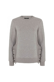 Rubine Ruffe Sweat