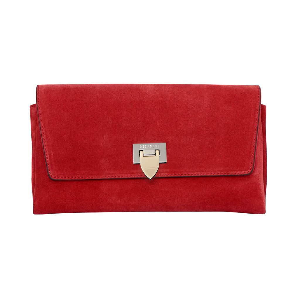 Nora Small clutch w/ buckle