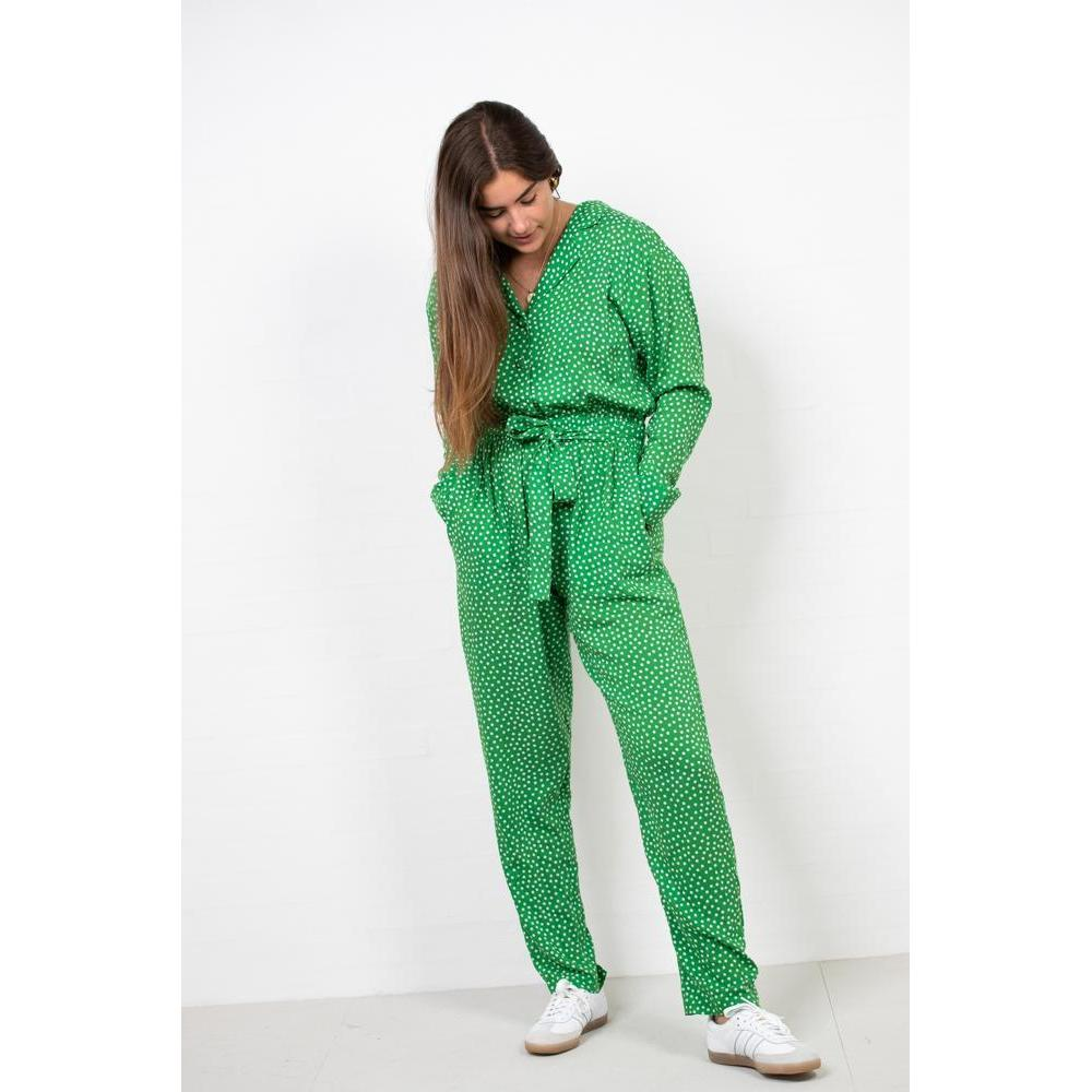 Viscose Play Cenata Cuff Pant Suit