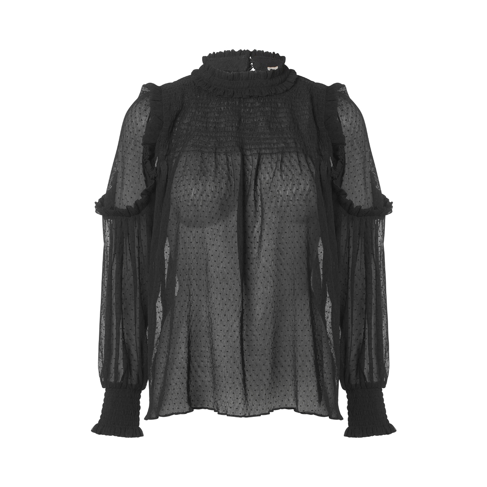 Black Plus Fine Ios Blouse