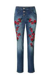 Classic Flower Jeans