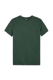 T-shirt washed pocket