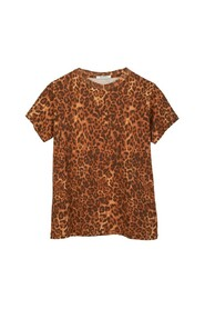 Tee Bronze Leopard top