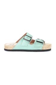 Los Angeles sandal in laminated leather