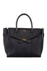 Small Zipped Bayswater Leather Satchel