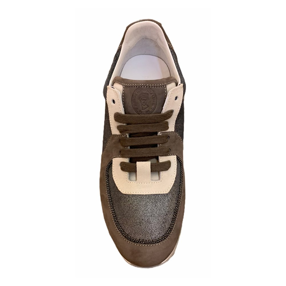 Brown Sneakers | Peserico | Sneakers | Men's shoes