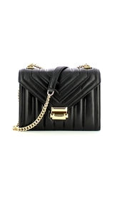 Whitney Large shoulder bag in quilted leather