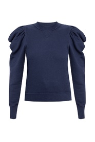 Harlan sweater with puff sleeves